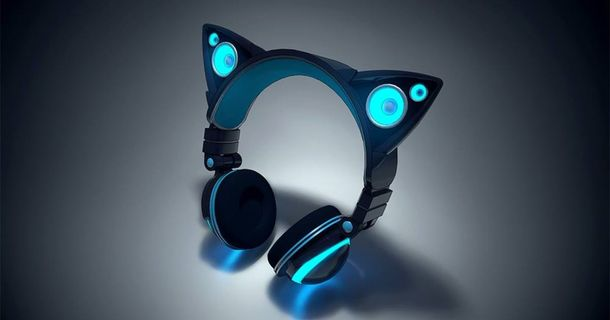 These Cat Ear Headphones Might Change The Face Of Personal Audio